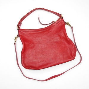 FRYE Melissa Convertible Hobo Satchel Bag Leather
